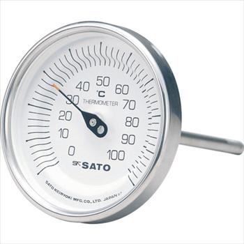 (株)佐藤計量器製作所 佐藤  バイメタル温度計BM-T型 [ BMT90S2 ]
