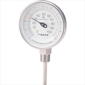 (株)佐藤計量器製作所 佐藤 バイメタル温度計BMーS型 [ BMS90S4 ]
