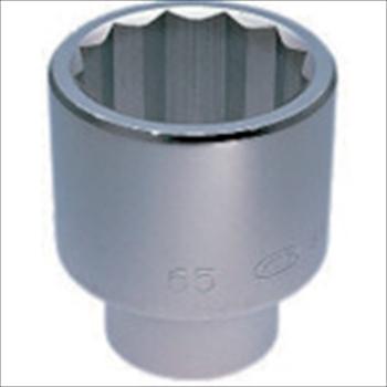 京都機械工具(株) KTC 25.4sq.ソケット(十二角)55mm [ B5055 ]