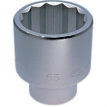 京都機械工具(株) KTC 25.4sq.ソケット(十二角) 58mm [ B5058 ]