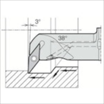 京セラ(株) 京セラ 内径加工用ホルダ [ A32SSVUBR1640AE ]