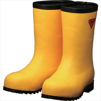 シバタ工業(株) SHIBATA 防寒安全長靴セーフティベアー#1011白熊(イエロー)フード無し [ AC10122.0 ]