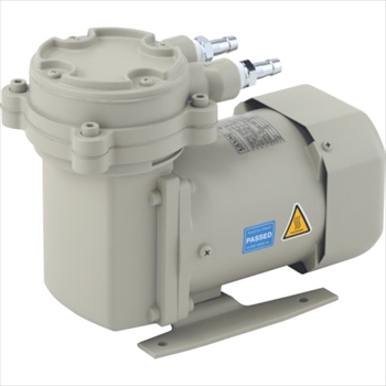 アルバック機工(株) ULVAC 単相100V ダイアフラム型ドライ真空ポンプ [ DAP15 ]