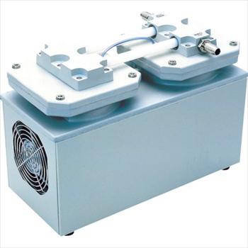 アルバック機工(株) ULVAC 単相100V ダイアフラム型ドライ真空ポンプ [ DA241S ]