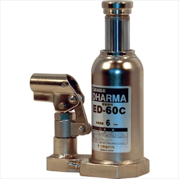 (株)今野製作所 イーグル クリーンルームレバー回転油圧ジャッキ能力6t [ ED60C ]