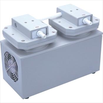 アルバック機工(株) ULVAC 単相100V ダイアフラム型ドライ真空ポンプ [ DTC120 ]