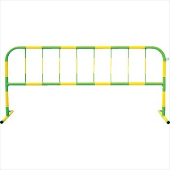 トーグ安全工業(株) トーグ カラーパイプバリケード黄反射緑 [ CB2 ]