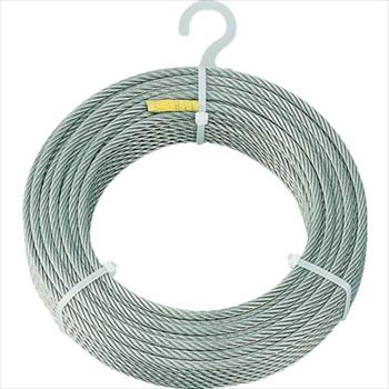 トラスコ中山(株) TRUSCO ステンレスワイヤロープ Φ4.0mmX200m [ CWS4S200 ]