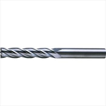 三菱マテリアル(株) 三菱K 4枚刃超硬センタカットエンドミル(ロング刃長) ノンコート 6.5mm [ C4LCD0650 ]