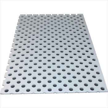 アルインコ(株) アルミ型材センター アルインコ アルミ複合板パンチ 3X1820X910 シルバー [ CG91P21 ]