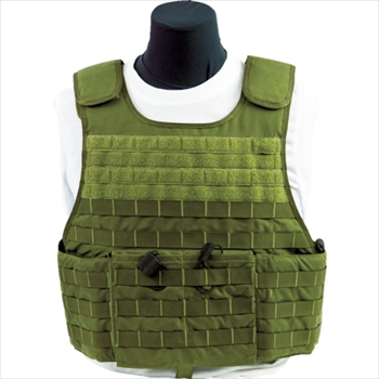 U.S. Armor社 US Armor Armor 防弾ベスト MSTV500(XP) ODグリーン L [ F500704RSODGL ]