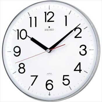 セイコークロック(株) SEIKO アクリルカバー電波掛時計 直径294×47 白 [ KX301H ]