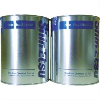 信越化学工業(株) 信越 速硬化RTVパテ AB2kg [ KE1222AB ]