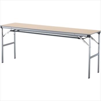 アイリスチトセ(株) アイリスチトセ 折畳みテーブルLOT 棚付き1845Tサイズ ナチュラル [ LOT1845TNA ]