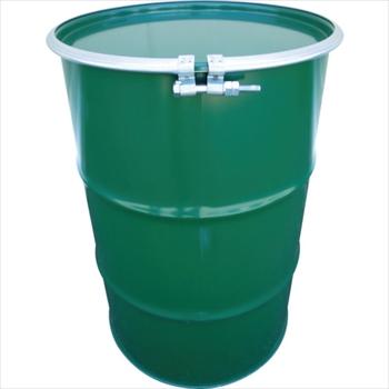 JFEコンテイナー(株) JFE 鋼製ドラム缶 オープンタイプ ボルトバンド式 200L [ KD200BST ]