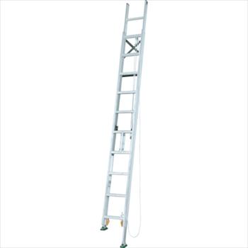 アルインコ(株)住宅機器事業部 アルインコ 脚伸縮二連はしご 全長6.37m 最大使用質量 100kg [ MDE64D ]