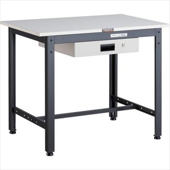 トラスコ中山(株) TRUSCO LEWP型作業台 900X600XH740 薄型1段引出付 [ LEWP0960UDK1 ]