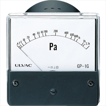 アルバック販売(株) ULVAC ピラニ真空計(アナログ仕様) GP-1G/WP-02 [ GP1GWP02 ]