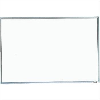 トラスコ中山(株) TRUSCO スチール製ホワイトボード 無地 粉受付 900X1800 [ GH102 ]