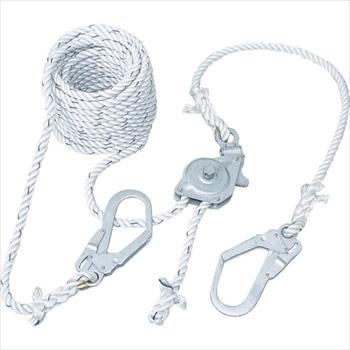 藤井電工(株) ツヨロン 水平親綱緊張器付GCハリップ10m [ GCH10BX ]