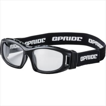 (株)GLASSART EYE-GLOVE 二眼型セーフティゴーグル ブラック (度なしレンズ) [ GP98BK ]