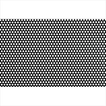 (株)奥谷金網製作所 OKUTANI 樹脂パンチング 1.0TXD3XP5 910X910 ブラック [ JPPVCT1D3P5910X910BLK ]