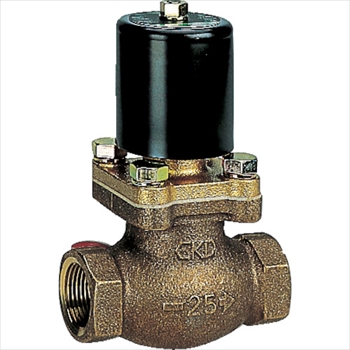 CKD(株) CKD 水用パイロットキック式2ポート電磁弁 200V [ PKW0627AC200V ]