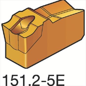 サンドビック(株)コロマントカンパニー サンドビック T-Max Q-カット 突切り・溝入れチップ H13A [ N151.24005E ]【 10個セット 】