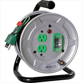 日動工業(株) 日動 電工ドラム 標準型100Vドラム アース漏電しゃ断器付 10m [ NSEB12 ]
