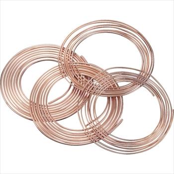 (株)UACJ SUMITOMO 空調冷媒用軟質銅管10mコイル [ NDK101010 ]