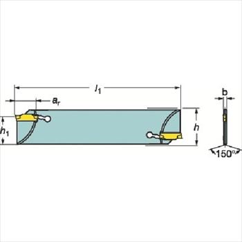 サンドビック(株)コロマントカンパニー サンドビック コロカット1・2 突切りブレード [ N123G5525A2 ]