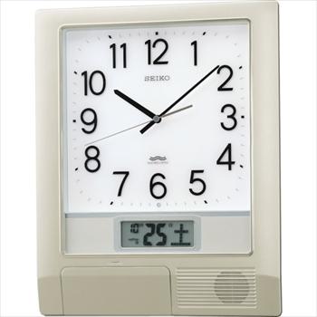 セイコークロック(株) SEIKO 電波プログラムクロック 429×345×57 銀色メタリック [ PT201S ]