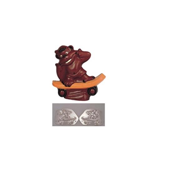 デコ・レリーフ デコレリーフ チョコレートモルド [ゴリラ     EU-562] [7-0989-0601] WTY74