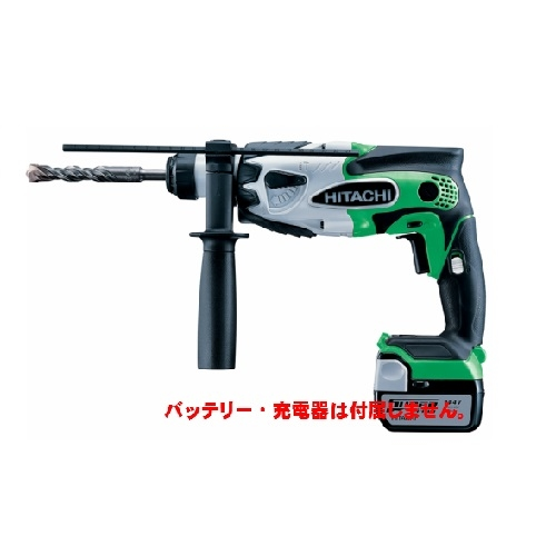 HiKOKI[ 日立工機 ]  14.4V コードレスロータリーハンマドリル DH14DSL(NN)【本体のみ】アグレッシブグリーン