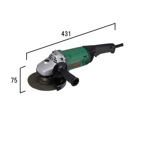 HiKOKI[ 日立工機 ]  150mm 電気ディスクグラインダ G15SP【200V仕様】