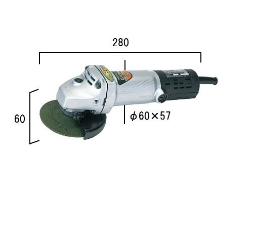 HiKOKI[日立工機] 100mm電気ディスクグラインダG10ML【H02】