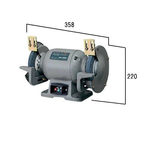 HiKOKI[日立工機] 150mm卓上電気グラインダGT15SH(1P)【単相】【H02】