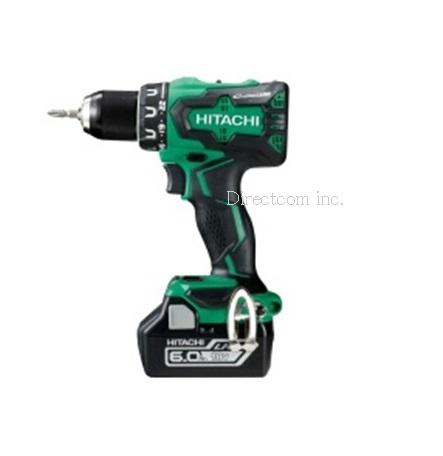 HiKOKI[日立工機] 18V3.0Ah電池付コードレスドライバドリルDS18DBSL(2LSCK)【ケース付フルセット】緑【H01】