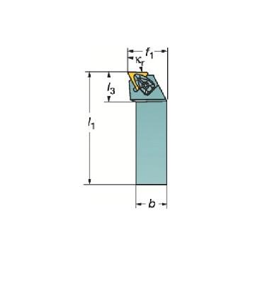サンドビック(株)コロマントカンパニー サンドビック コロターンRC ネガチップ用シャンクバイト [ DTFNR2525M16 ]