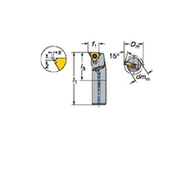 サンドビック(株)コロマントカンパニー サンドビック T-Max U-ロック ねじ切りボーリングバイト [ R166.0KF12E11 ]