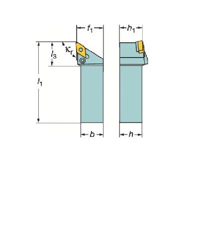 サンドビック(株)コロマントカンパニー サンドビック T-Max P ネガチップ用シャンクバイト [ PDJNL3232P15 ]