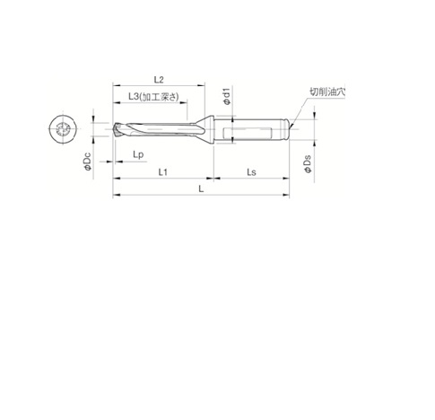 京セラ(株) 京セラ ドリル用ホルダ [ SF16DRC120M5 ]