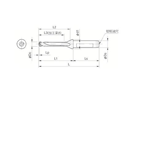 京セラ(株) 京セラ ドリル用ホルダ [ SF16DRC105M5 ]