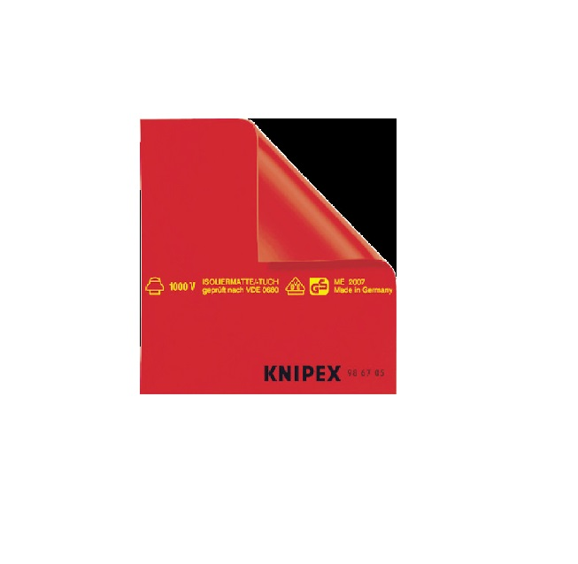KNIPEX社 KNIPEX 絶縁シート 500×500mm [ 986705 ]