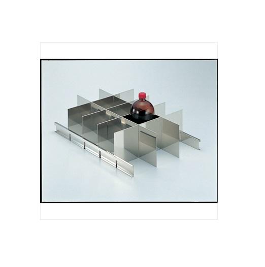 トラスコ中山(株) TRUSCO 耐震薬品庫 SY型用仕切板セット 1LビンX15本用 [ SY1000SS ]