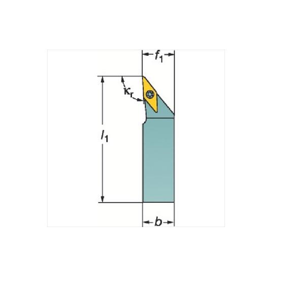 サンドビック(株)コロマントカンパニー サンドビック コロターンTR シャンクバイト[ TRV13JBL3225P ]