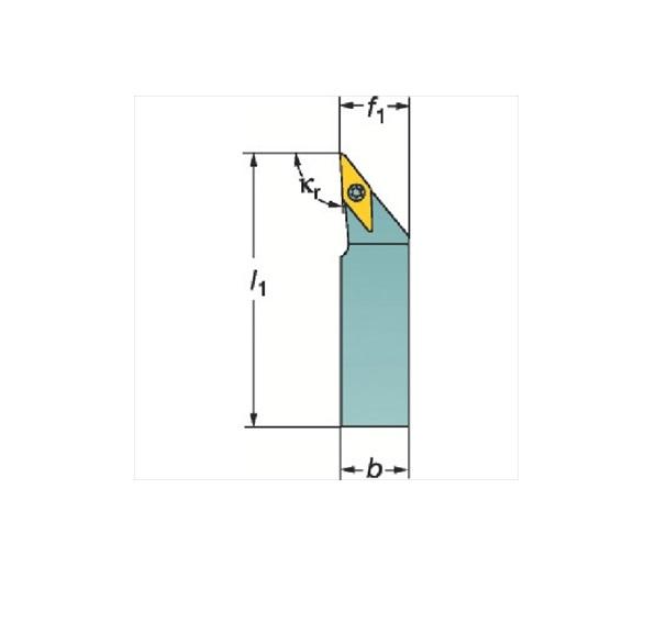 サンドビック(株)コロマントカンパニー サンドビック コロターンTR シャンクバイト[ TRV13JBR2525M ]