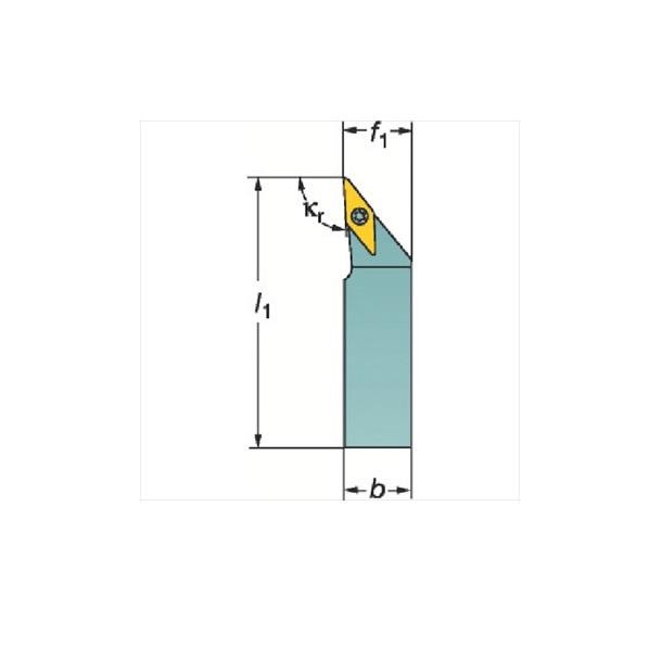 サンドビック(株)コロマントカンパニー サンドビック コロターンTR シャンクバイト[ TRV13JBR3225P ]