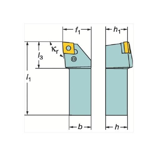 サンドビック(株)コロマントカンパニー サンドビック T-Max P ネガチップ用シャンクバイト [ PCLNL4040S19 ]