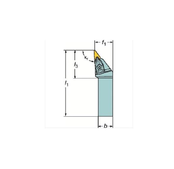 サンドビック(株)コロマントカンパニー サンドビック コロターンRC ネガチップ用シャンクバイト [ DVJNR3225P16 ]